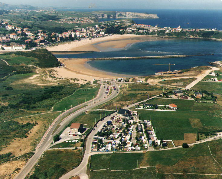 Playa de Cuchía y playa de Suances